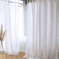 Bella Notte Linen Whisper Curtain Panel